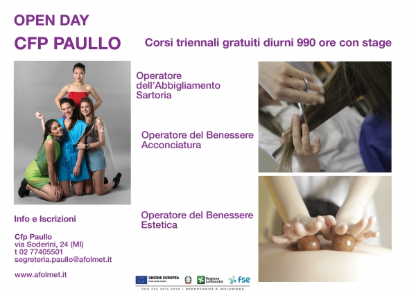 Open Day cfp Paullo